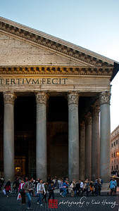Facade of the Pantheon